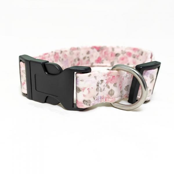 SALE: Dog Collar - Vintage Flowers 2.0