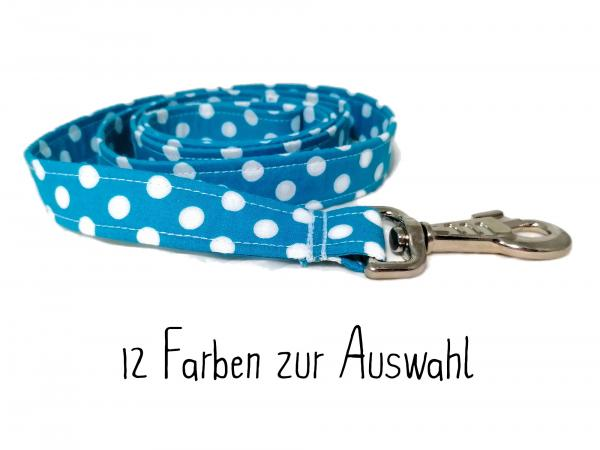 SALE: Handmade Dog Leash - Polka Dots - Choose from 12 Colors