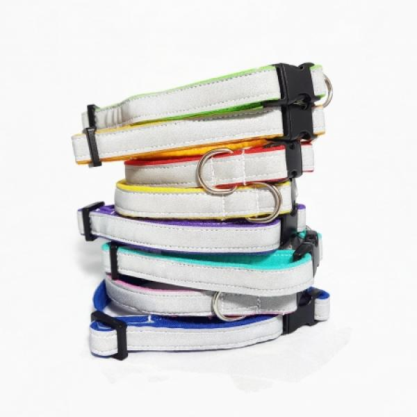 Reflective Cat Collar - Reflector - choose from 20 Colors