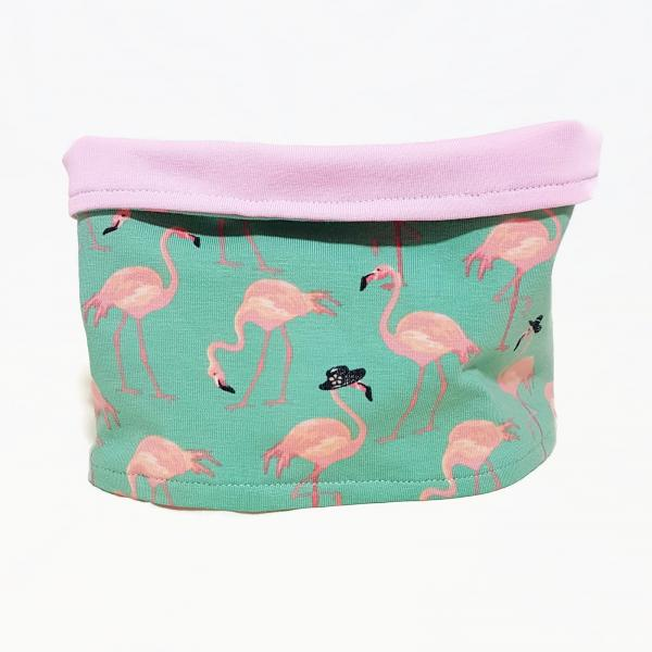 SALE: Dog Infinity Scarf/Snood - Flamingo