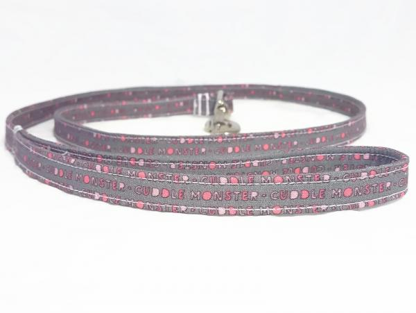 Handmade Dog Leash - Cuddle Monster