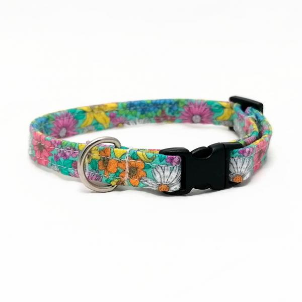 Cat Collar - Summer Flowers 2.0