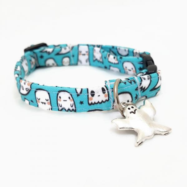 Cat Collar - Little Ghost - Halloween