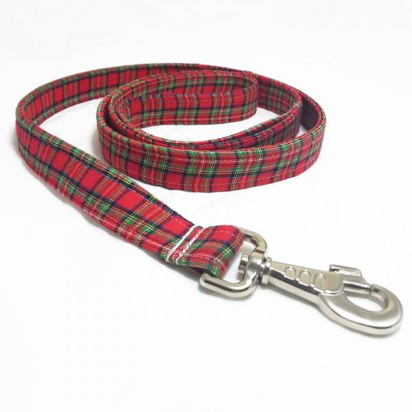 Handmade Dog Leash - Tartan