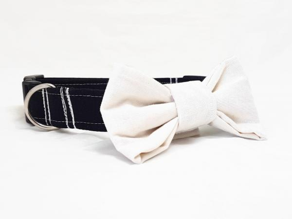 Dog Collar with Bow Tie - The Big Day