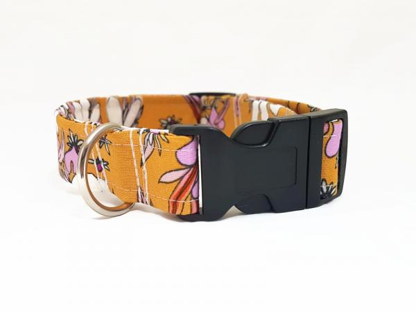 SALE: Dog Collar - Vintage Flowers 5.0