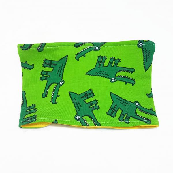SALE: Dog Infinity Scarf/Snood - Crocodile