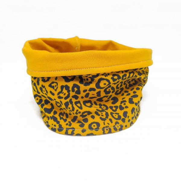 Dog Infinity Scarf/Snood - Leopard
