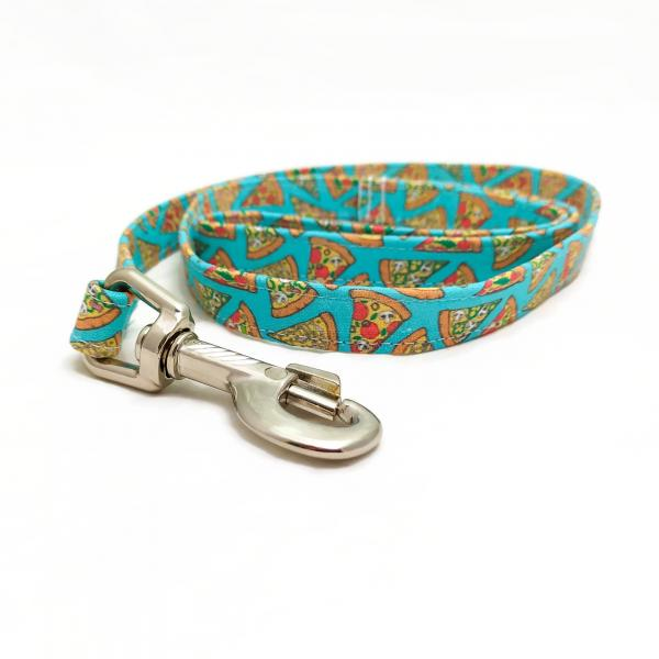 Handmade Dog Leash - Pizza