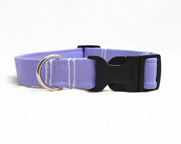 Dog Collar with Bow Tie - Lilac