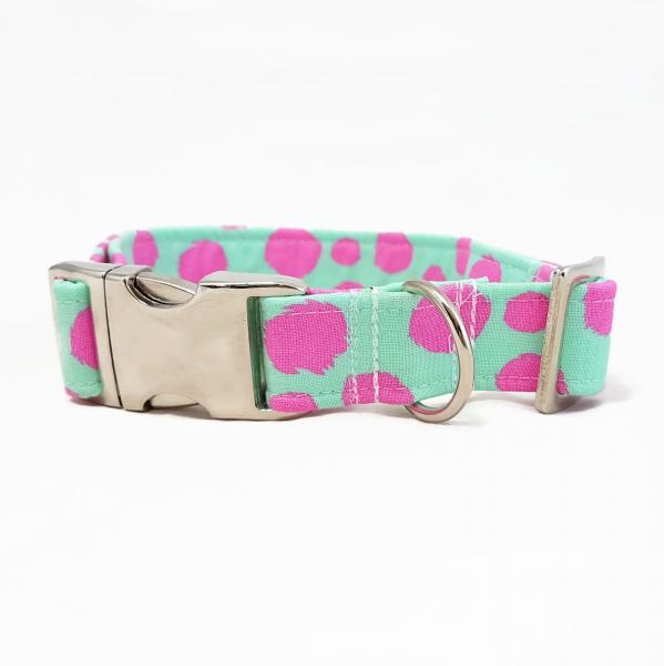 Dog Collar - Pink Tabby