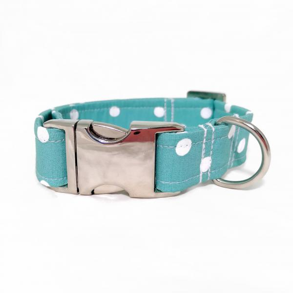 SALE: Dog Collar - Polka Dots - Choose from 12 Colors